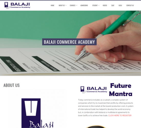 Balaji Commerce Academy